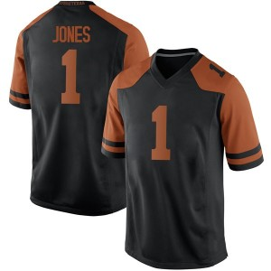 Andrew Jones Nike Texas Longhorns Men's Game Mens Football College Jersey - Black