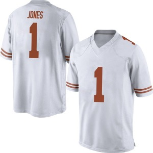 Andrew Jones Nike Texas Longhorns Men's Game Mens Football College Jersey - White