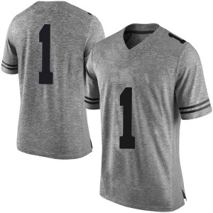 Andrew Jones Nike Texas Longhorns Men's Limited Mens Football College Jersey - Gray