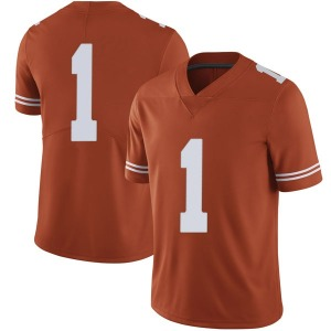 Andrew Jones Nike Texas Longhorns Men's Limited Mens Football College Jersey - Orange
