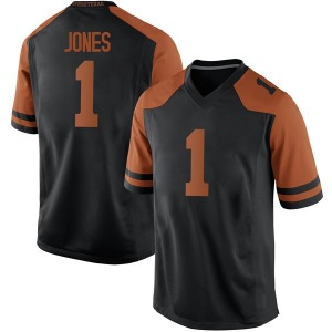 Andrew Jones Nike Texas Longhorns Men's Replica Mens Football College Jersey - Black