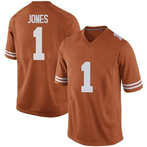 Andrew Jones Nike Texas Longhorns Men's Replica Mens Football College Jersey - Orange