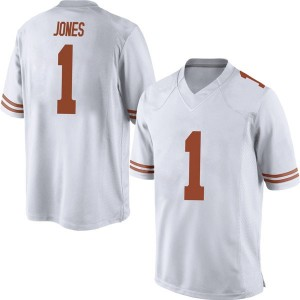 Andrew Jones Nike Texas Longhorns Men's Replica Mens Football College Jersey - White