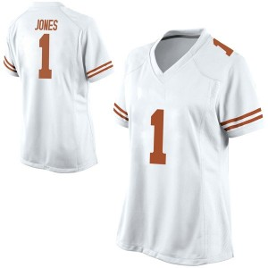 Andrew Jones Nike Texas Longhorns Women's Game Football College Jersey - White