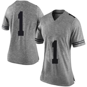 Andrew Jones Nike Texas Longhorns Women's Limited Women Football College Jersey - Gray