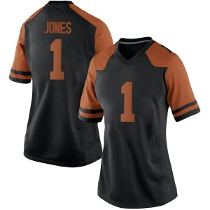 Andrew Jones Nike Texas Longhorns Women's Replica Women Football College Jersey - Black