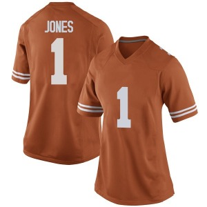 Andrew Jones Nike Texas Longhorns Women's Replica Women Football College Jersey - Orange