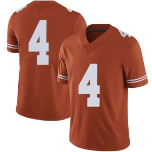 Anthony Cook Nike Texas Longhorns Men's Limited Mens Football College Jersey - Orange