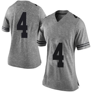 Anthony Cook Nike Texas Longhorns Women's Limited Women Football College Jersey - Gray