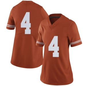 Anthony Cook Nike Texas Longhorns Women's Limited Women Football College Jersey - Orange