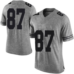 Austin Hibbetts Nike Texas Longhorns Men's Limited Mens Football College Jersey - Gray