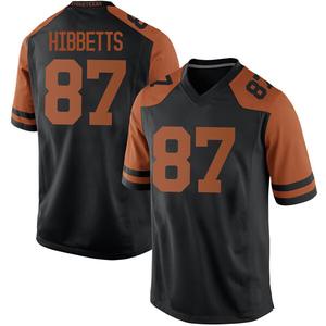 Austin Hibbetts Nike Texas Longhorns Men's Replica Mens Football College Jersey - Black