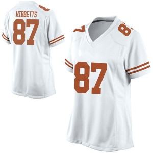Austin Hibbetts Nike Texas Longhorns Women's Game Football College Jersey - White