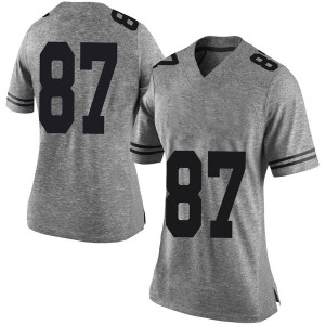 Austin Hibbetts Nike Texas Longhorns Women's Limited Women Football College Jersey - Gray
