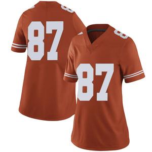 Austin Hibbetts Nike Texas Longhorns Women's Limited Women Football College Jersey - Orange