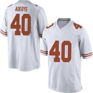 Ayodele Adeoye Nike Texas Longhorns Men's Game Mens Football College Jersey - White