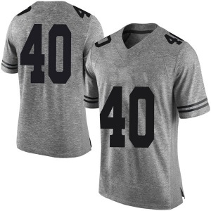 Ayodele Adeoye Nike Texas Longhorns Men's Limited Mens Football College Jersey - Gray