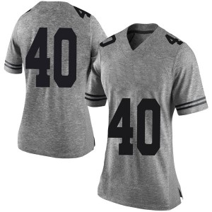 Ayodele Adeoye Nike Texas Longhorns Women's Limited Women Football College Jersey - Gray