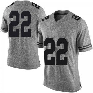 Blake Nevins Nike Texas Longhorns Men's Limited Mens Football College Jersey - Gray