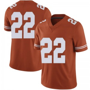 Blake Nevins Nike Texas Longhorns Men's Limited Mens Football College Jersey - Orange
