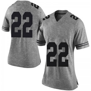 Blake Nevins Nike Texas Longhorns Women's Limited Women Football College Jersey - Gray