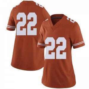 Blake Nevins Nike Texas Longhorns Women's Limited Women Football College Jersey - Orange