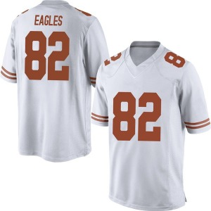 Brennan Eagles Nike Texas Longhorns Men's Game Mens Football College Jersey - White