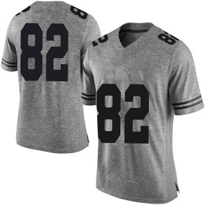 Brennan Eagles Nike Texas Longhorns Men's Limited Mens Football College Jersey - Gray