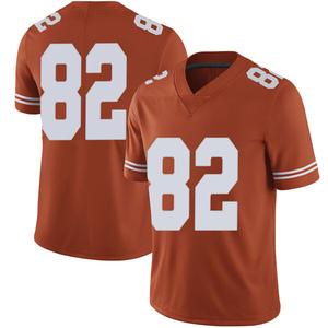 Brennan Eagles Nike Texas Longhorns Men's Limited Mens Football College Jersey - Orange