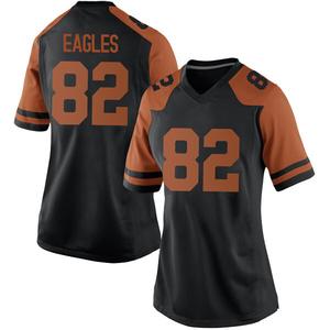 Brennan Eagles Nike Texas Longhorns Women's Game Women Football College Jersey - Black