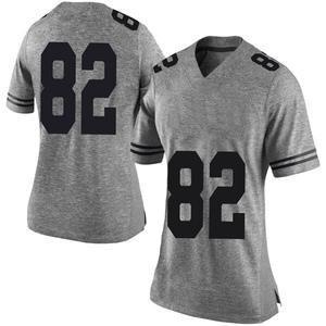 Brennan Eagles Nike Texas Longhorns Women's Limited Women Football College Jersey - Gray