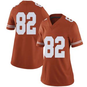 Brennan Eagles Nike Texas Longhorns Women's Limited Women Football College Jersey - Orange