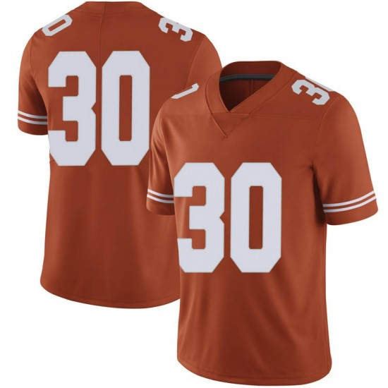 Brock Cunningham Nike Texas Longhorns Men's Limited Mens Football College Jersey - Orange