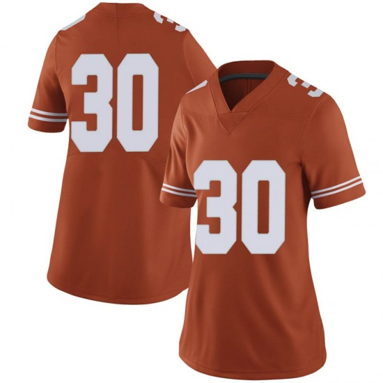 Brock Cunningham Nike Texas Longhorns Women's Limited Women Football College Jersey - Orange