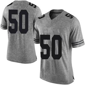 Byron Vaughns Nike Texas Longhorns Men's Limited Mens Football College Jersey - Gray