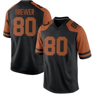 Cade Brewer Nike Texas Longhorns Men's Game Mens Football College Jersey - Black