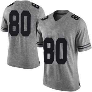 Cade Brewer Nike Texas Longhorns Men's Limited Mens Football College Jersey - Gray