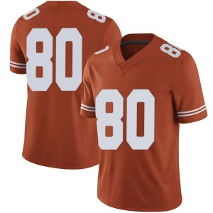 Cade Brewer Nike Texas Longhorns Men's Limited Mens Football College Jersey - Orange
