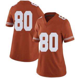 Cade Brewer Nike Texas Longhorns Women's Limited Women Football College Jersey - Orange