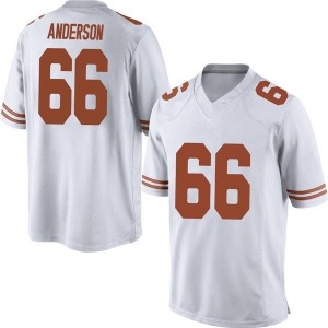 Calvin Anderson Nike Texas Longhorns Men's Replica Mens Football College Jersey - White