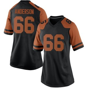 Calvin Anderson Nike Texas Longhorns Women's Game Women Football College Jersey - Black