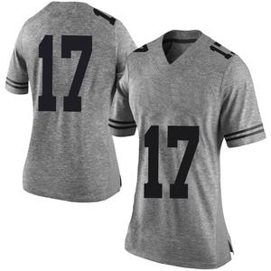 Cameron Dicker Nike Texas Longhorns Women's Limited Women Football College Jersey - Gray