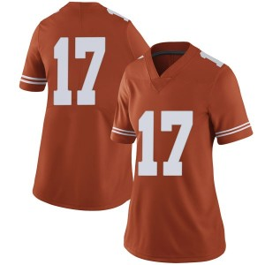 Cameron Dicker Nike Texas Longhorns Women's Limited Women Football College Jersey - Orange