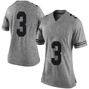 Cameron Rising Nike Texas Longhorns Women's Limited Women Football College Jersey - Gray