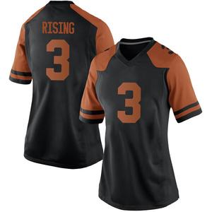 Cameron Rising Nike Texas Longhorns Women's Replica Women Football College Jersey - Black