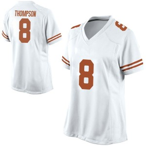 Casey Thompson Nike Texas Longhorns Women's Game Football College Jersey - White