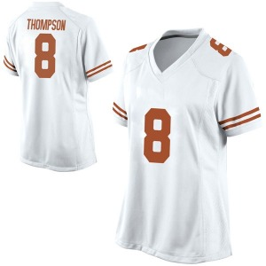Casey Thompson Nike Texas Longhorns Women's Replica Football College Jersey - White