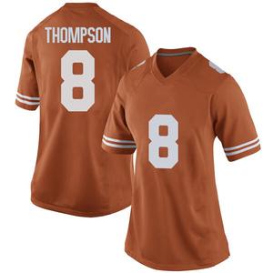 Casey Thompson Nike Texas Longhorns Women's Replica Women Football College Jersey - Orange