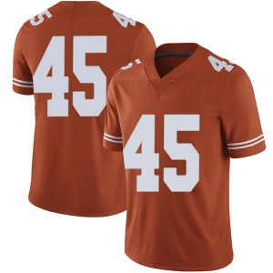 Chris Naggar Nike Texas Longhorns Men's Limited Mens Football College Jersey - Orange