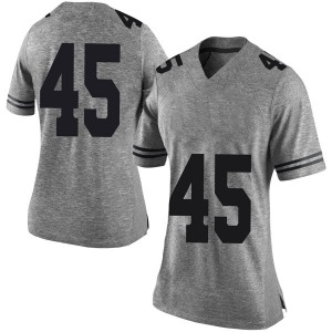 Chris Naggar Nike Texas Longhorns Women's Limited Women Football College Jersey - Gray